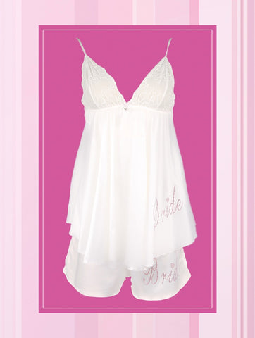 Baby Doll bridal nightwear