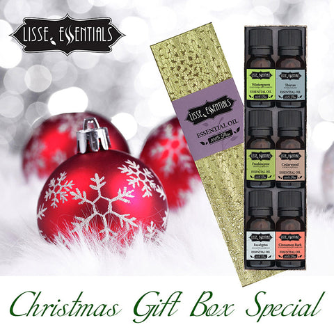 Lisse Essentials Essential Oil Christmas Gift Pack Special