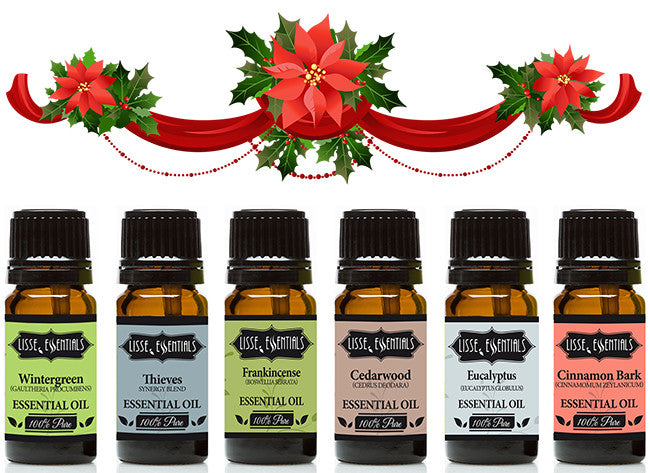 lisse essentials essential oil christmas gift pack special lisse essentials essential oils - Christmas Essential Oils