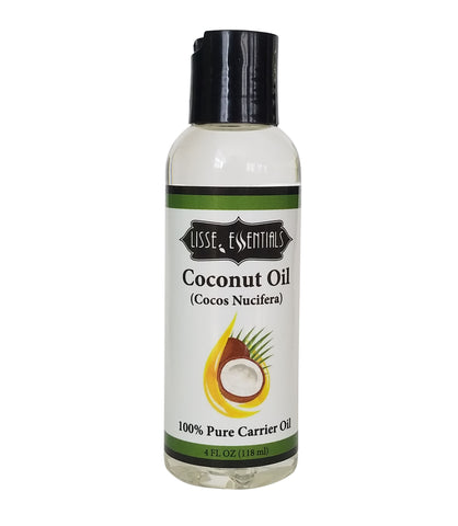 Coconut Carrier Oil (Fractionated) 4 oz