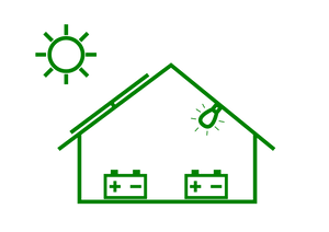off-grid-rooftop-solar-system