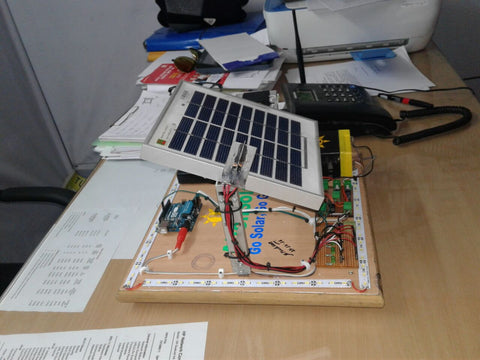 Single and dual axis solar tracker using Arduino and the