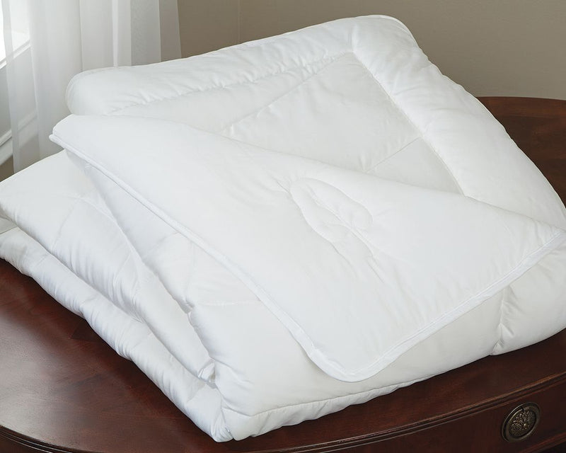 Luxurious Natural Year Round Weight Comforter-Wood Cellulose