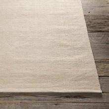 Area Rugs - Cotton - Dhurrie Rugs Contemporary Cotton Area Rug - Chalk