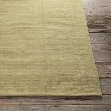 Area Rugs - Cotton - Dhurrie Rugs Contemporary Cotton Area Rug - Lime