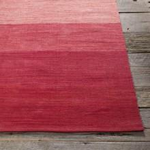 Area Rugs - Cotton - Dhurrie Rugs Contemporary Cotton Area Rug - Red