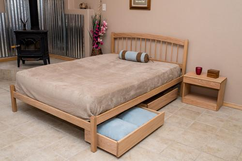 Bedroom Furniture - Nomad Furniture - El Paso Platform Bed