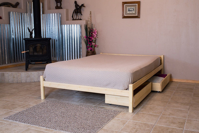 Bedroom Furniture - Platform Bed Frame - Nomad Furniture - Pecos Platform Bed