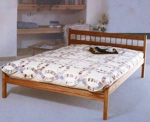 Bedroom Furniture - Platform Bed Frame - Nomad Furniture - Ranch Platform Bed