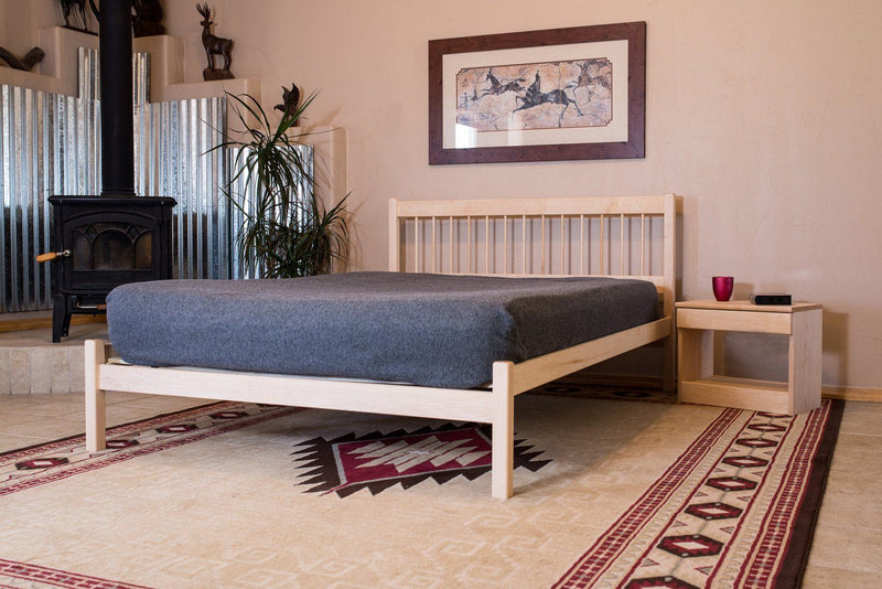 Bedroom Furniture - Platform Bed Frame - Nomad Furniture - Sandia Platform Bed