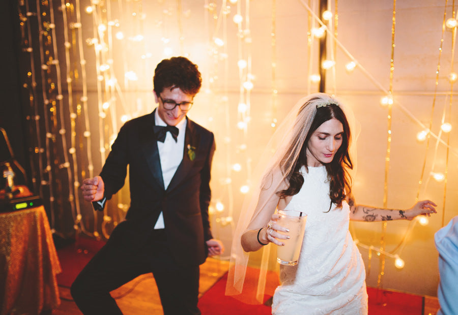 Lesley Arfin + Paul Rust's Wedding