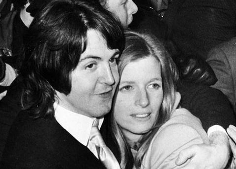 The Wedding But When He Arrived At Registry Office There Were Thousands Of Weeping Fans Outside And Paul Linda Waiting For Him Inside