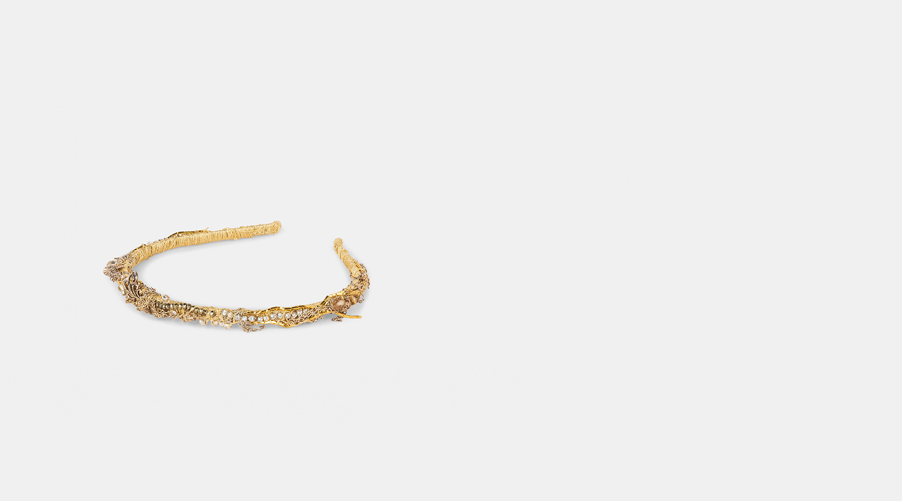 The Roxy Golden Headband