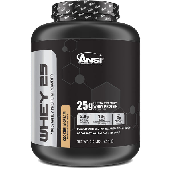 <strong>Pro-Series Whey 25• 5lb sabor Cookies & Cream </strong>