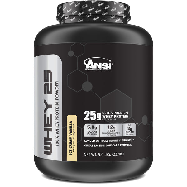<strong>Pro-Series Whey 25• 5lb sabor Ice Cream Vanilla </strong>
