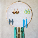 Beach Inspired Earring Hanger And Wall Decor