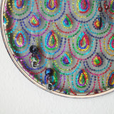 Sparkly And Colorful Art Deco Inspired Earring Hanger And Wall Decor
