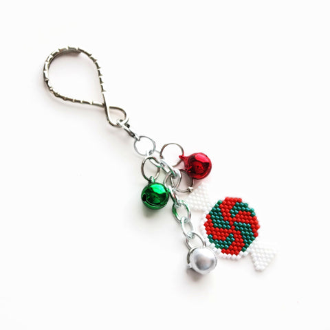 Christmas Candy Charm And Keychain