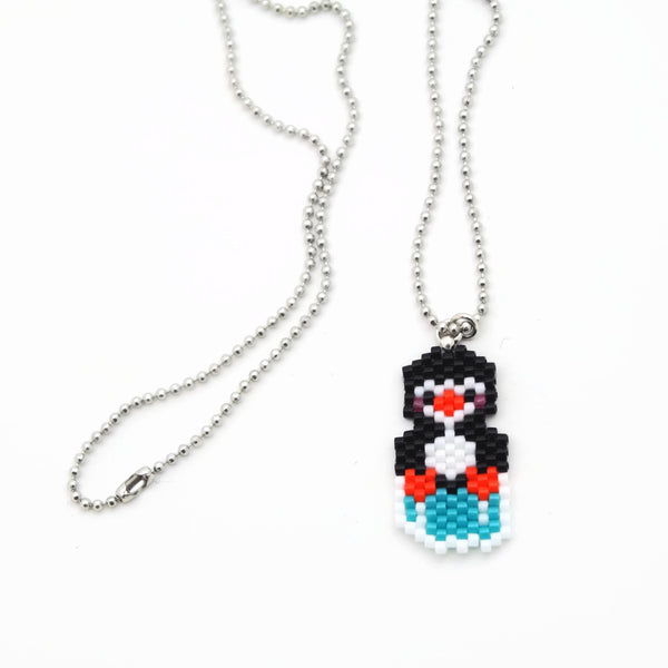 Penguin On Ice Necklace