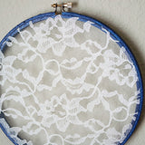 Close Up Navy Blue Earring Hanger