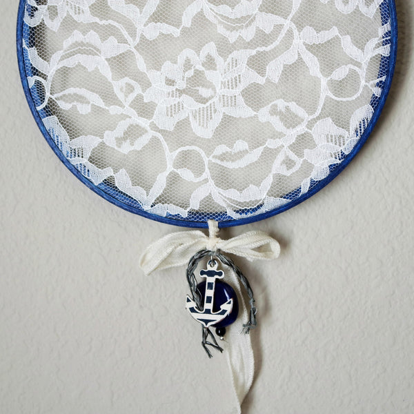 Navy Blue Earring Hanger