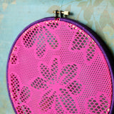 Hot Pink And Purple Earring Hanger