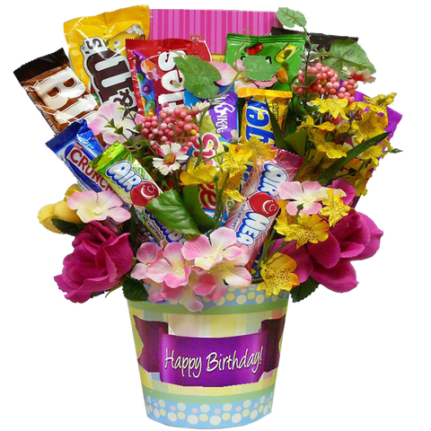Art of Appreciation Happy Birthday Candy Bouquet