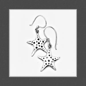 You're a Star drop earrings