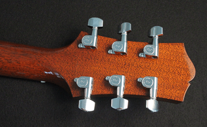 Collings C10 Natural Mahogany Schaller Tuners