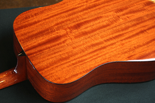 Collings D1A 1 3/4 Nut Width Mahogany Back