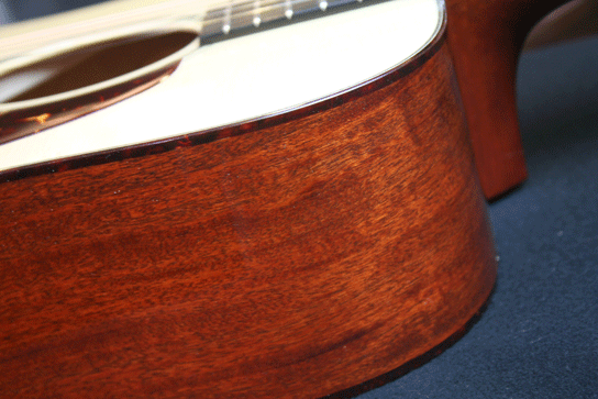 Collings D1A 1 3/4 Nut Width Mahogany Side