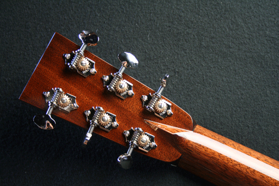 D2H Adirondack Body Top Tuners