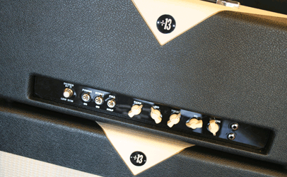 Divided By 13 LDW 17/39 Head & 2x12 Cab Black & Egg Tolex Front