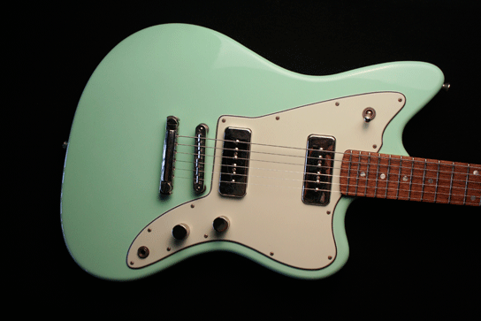 Fano JM6 Surf Green Xtra Light Relic Finish Body Full