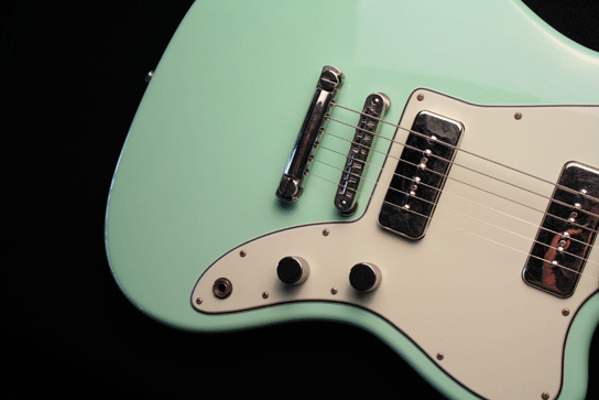 Fano JM6 Surf Green Xtra Light Relic Finish Body Fralin Pickups