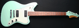 Fano JM6 Surf Green Xtra Light Relic Finish Body Full View