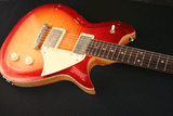 Fano RB6 Fireglow Burst With Lollar Imperial Pickups Mahogany Body Side