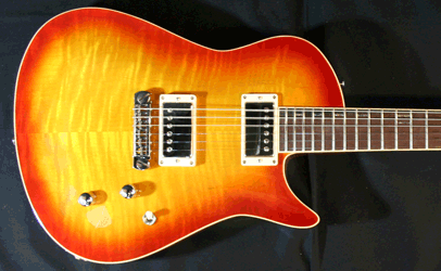 Giffin Valiant Cherry Burst Body