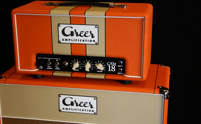 Greer Amps CAM 18 Head & 1x12 Cabinet Front