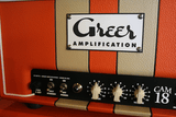 Greer Amps CAM 18 Head & 1x12 Cabinet Front Controls Left