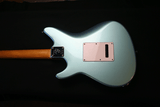 Grosh ElectraJet Custom Ice Mint Metallic Body Back