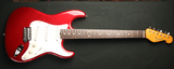 Grosh NOS Retro Candy Apple Red Alder Rosewood Full View