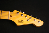 "LSL Saticoy Vintage Cream ""No Relic"" Headstock"