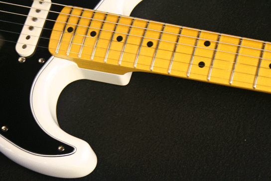 "LSL Saticoy Vintage Cream ""No Relic"" Maple Neck"