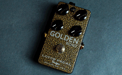 Lotus Pedals Golden Echo Delay
