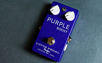 Lotus Pedals Purple Boost