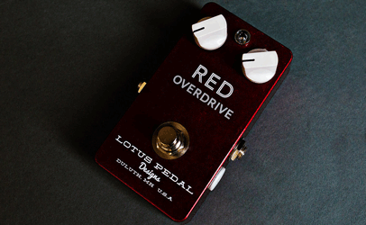 Lotus Pedals Red Overdrive