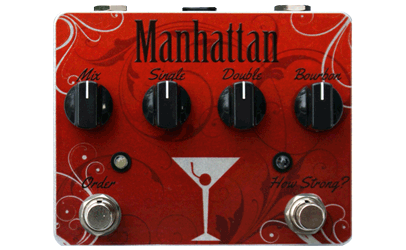 Tortuga Effects Manhattan Flanger Custom Shop