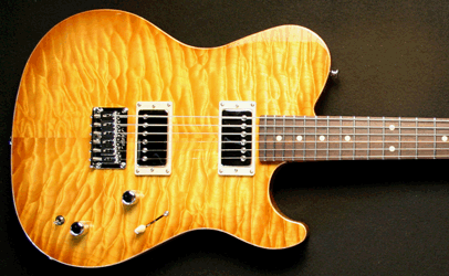 Melancon Custom Artist T Lemon Burst