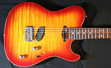 Melancon Custom Artist T Cherry Sunburst Body Front